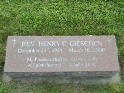 Rev. Henry C. Gieschen